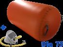 Airgymnast impuls cilinder Dia 75x120 cm oranje