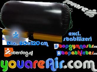 Single piece AirRoll Dia 0.6x1.2m zwart Order now!