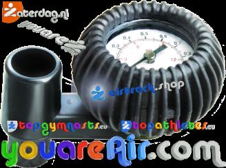 BRAVO SP 125/0,5 bar (7.3 psi) Manometer Gauge