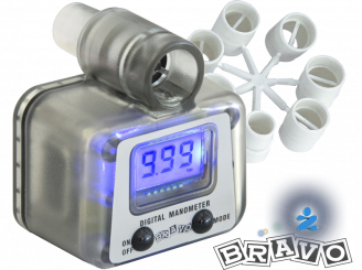 Bravo SP150 Digital manometer pressure gauge
